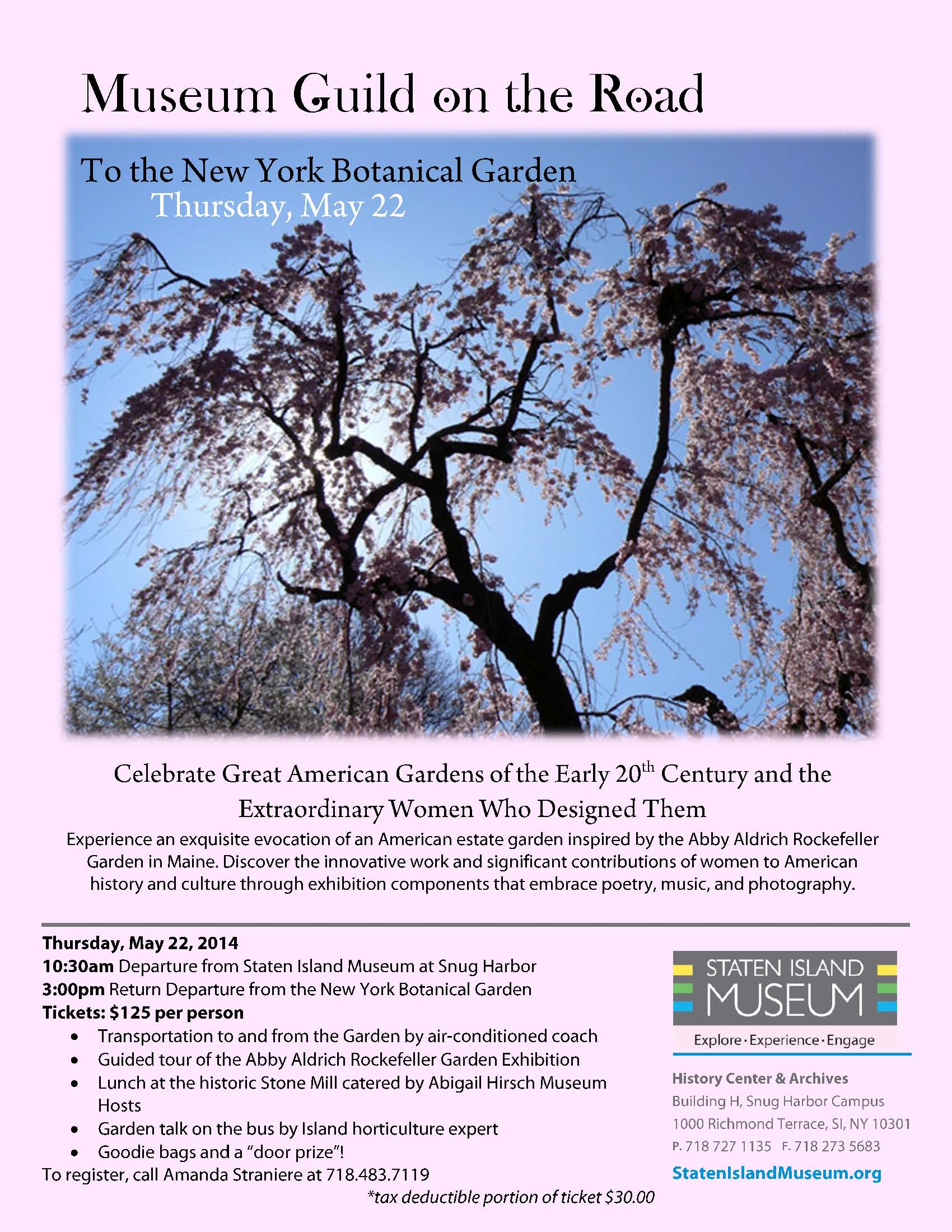 Guild NYBG trip FLYER