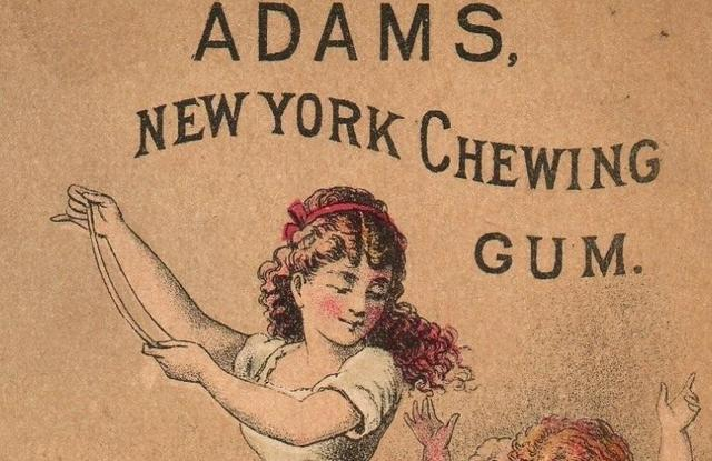 Thomas Adams-Staten Island-Chewing Gum-Famous People