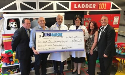 SIBOR Golf Event Raises $15,000 for Children with Cancer