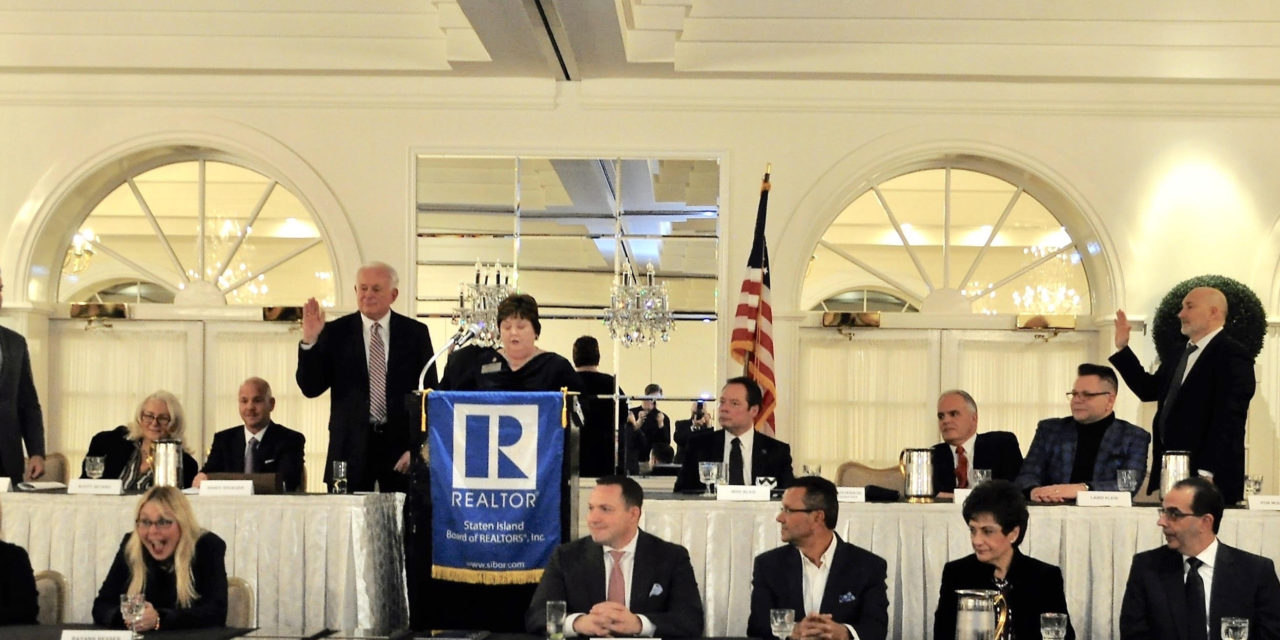 Staten Island Board of REALTORS® Inducts 2019 President, Officers, Directors